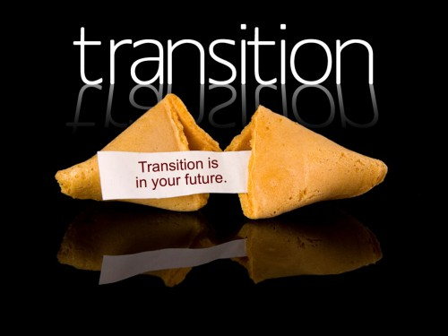 fortune cookie reading transition is in your future