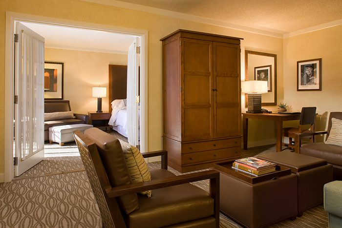 Parlor suite at Kierland resort