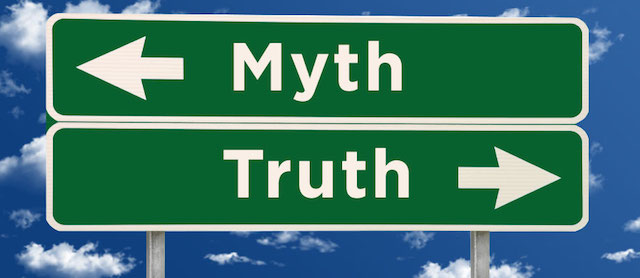 Myth Truth street signs