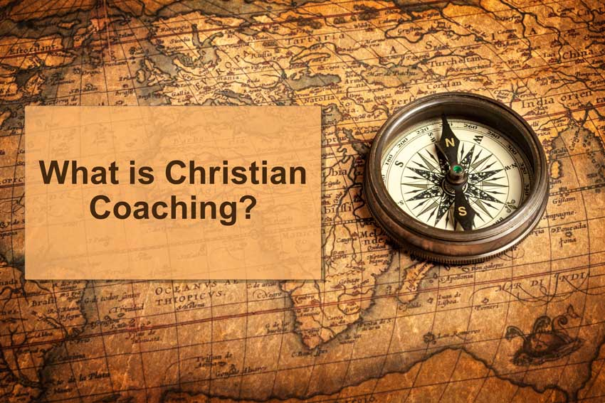 What is Christian Coaching? map with compass