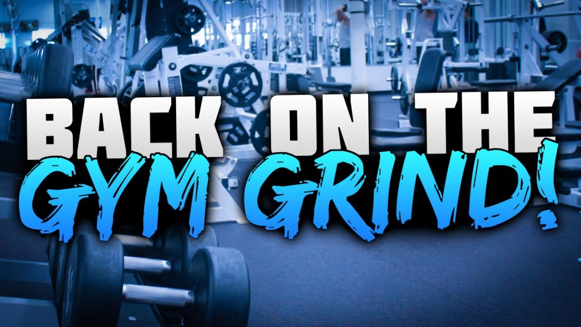 Weight room - Back on the gym grind