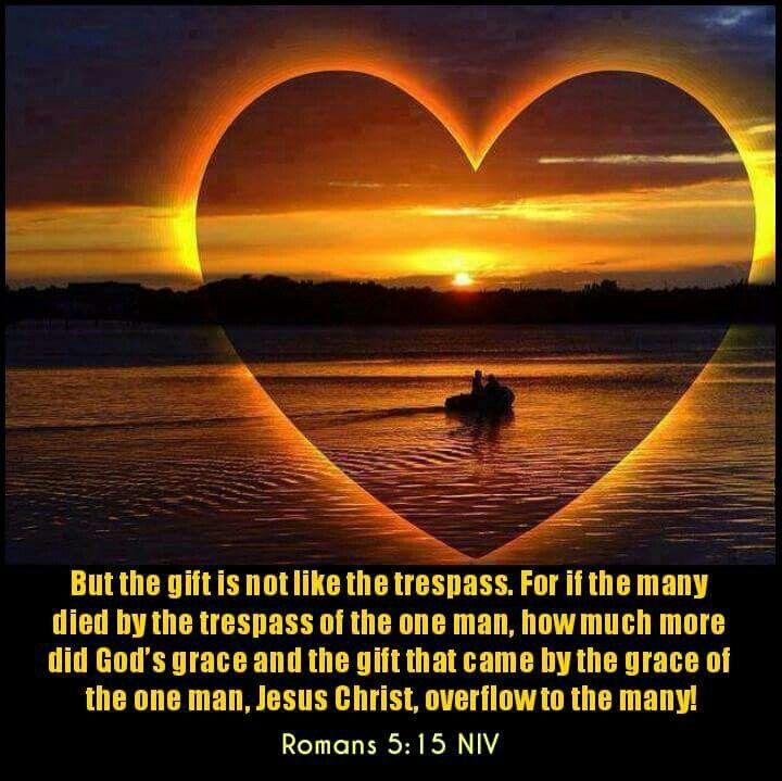 Romans 5:15 NIV